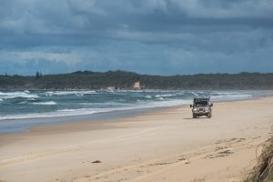 4wd yuraygir national park