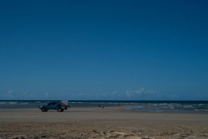 QLD beach driving