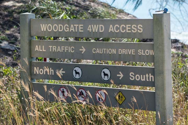 woodgate beach 4wding