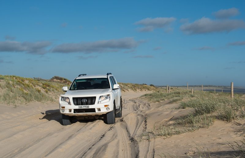 beach driving middleton south oz