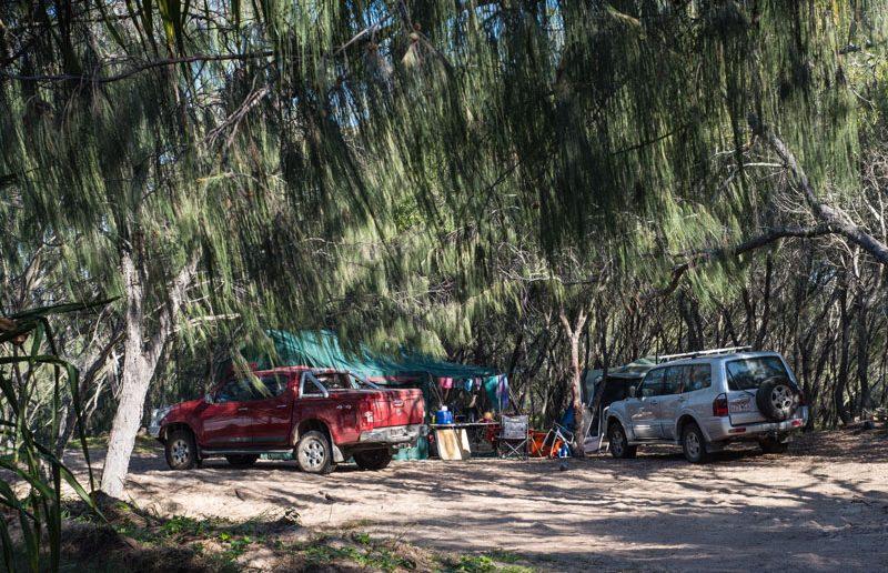 camping kinkuna beach qld