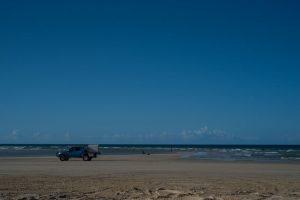 QLD beach driving