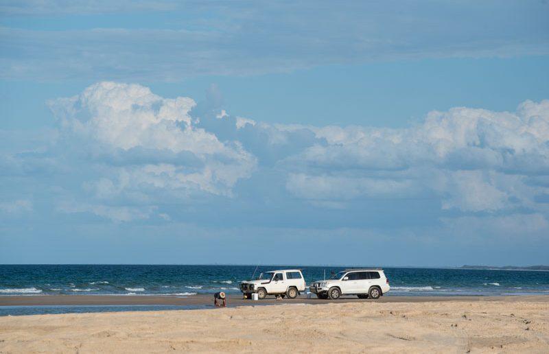 kinkuna beach driving qld
