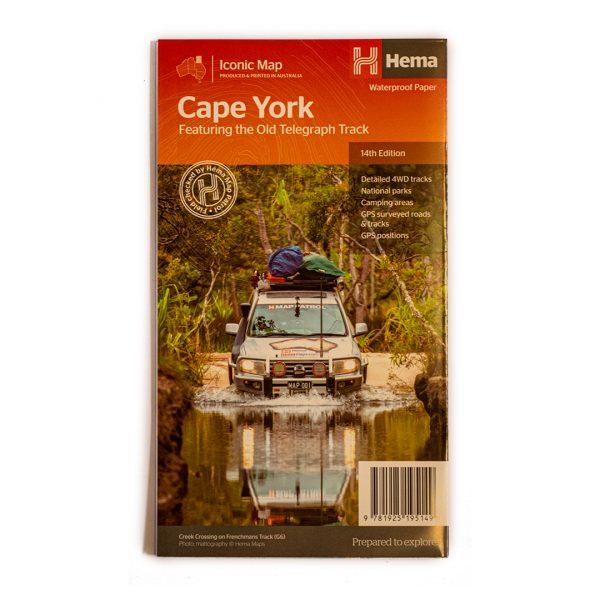 Cape York detailed hema map